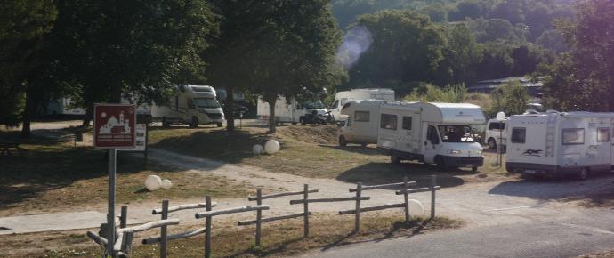 Area Camper Sella di Corno